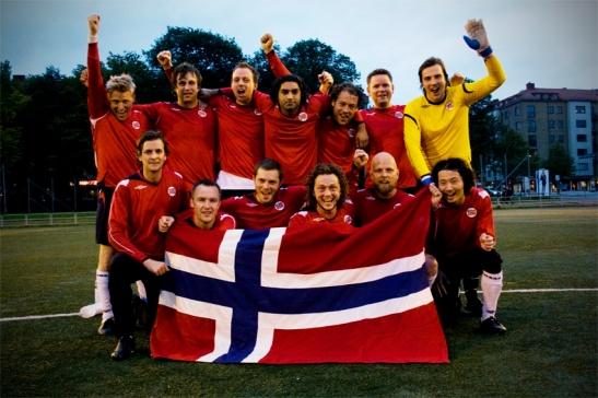 Etter seieren mot Sverige i 2009.
