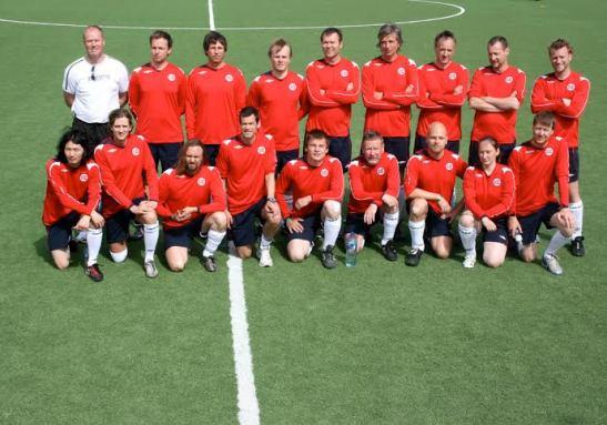 Lagbilde Norge - Sverige 2008.
