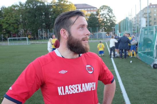 Lars Haga Raavand gjorde en glimrende jobb på midtbanen.
